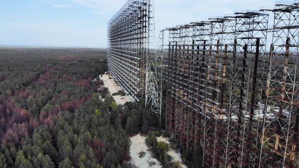 Vodafone расширил сеть LTE 900 МГц в Чернобыльской зоне отчуждения