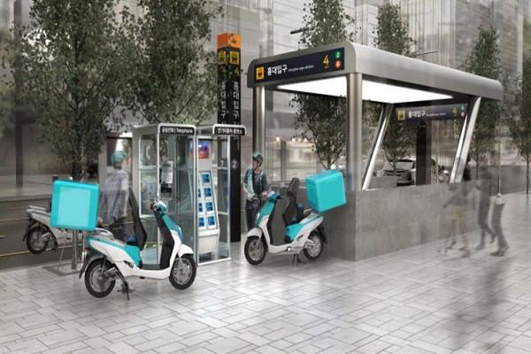 Телефонные будки превратят в станции по замене батарей для электроскутеров