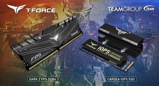 TEAMGROUP анонсировала геймерскую память DARK Z FPS и геймерский накопитель