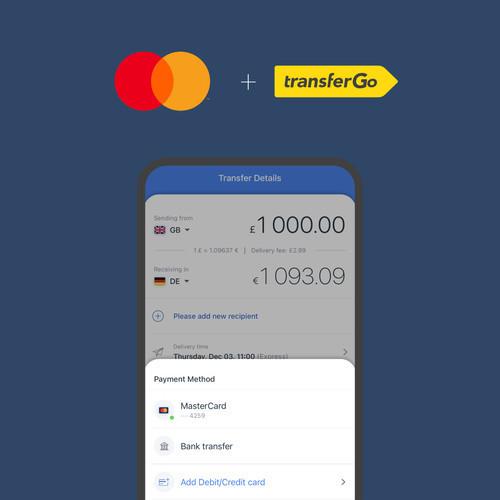 TransferGo и Mastercard расширяют возможности международных денежных переводов
