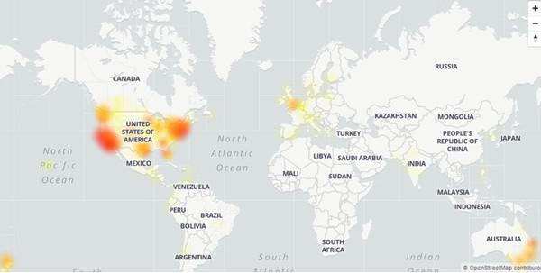 В работе почтового сервиса Gmail произошёл масштабный сбой. Второй раз подряд
