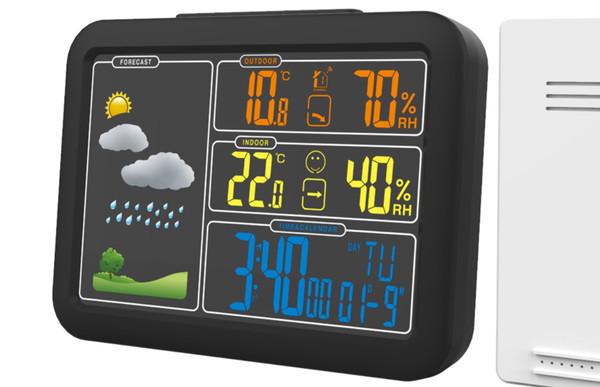 Новые метеостанции Ritmix с беспроводными датчиками
