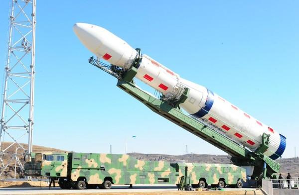 Китай осуществил запуск третьего спутника мобильной связи