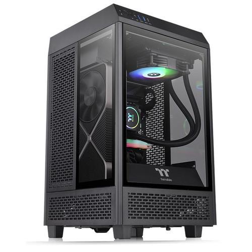Thermaltake представила корпус-аквариум The Tower 100 под системы на Mini-ITX