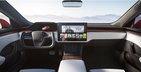 Бортовой компьютер обновлённой Tesla Model S получит мощный AMD Navi 23