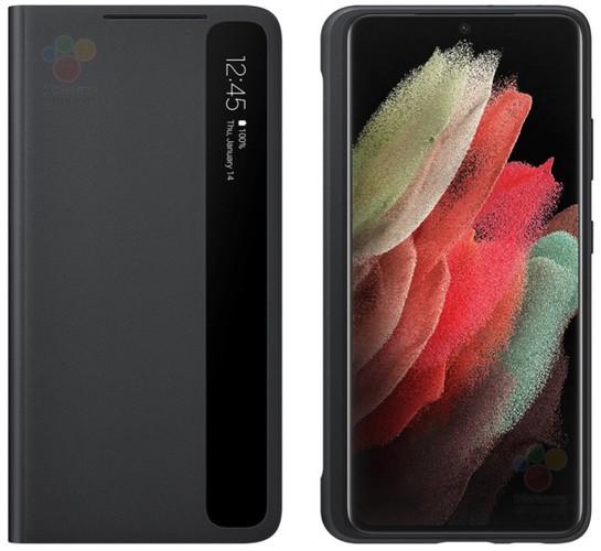 Samsung выпустит для Galaxy S21 Ultra чехол с отсеком для стилуса S-Pen