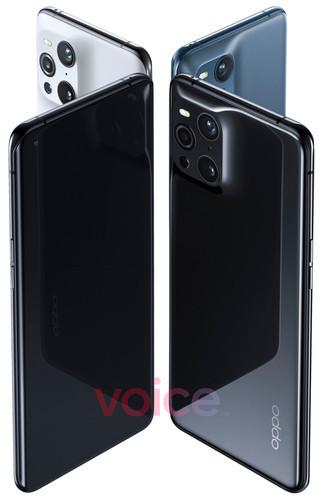 Флагман Oppo Find X3 Pro показался на официальныx изображениях