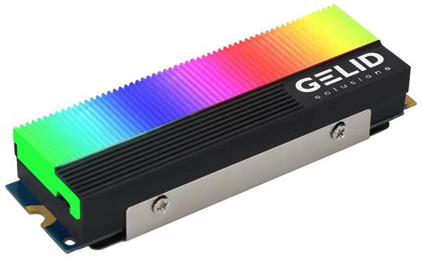 Gelid представила радиатор Glint с адресуемой подсветкой для SSD
