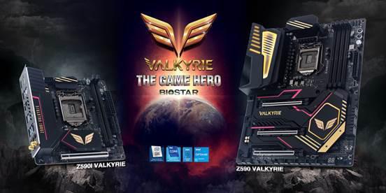 Biostar показала новые материнские платы Z590 VALKYRIE