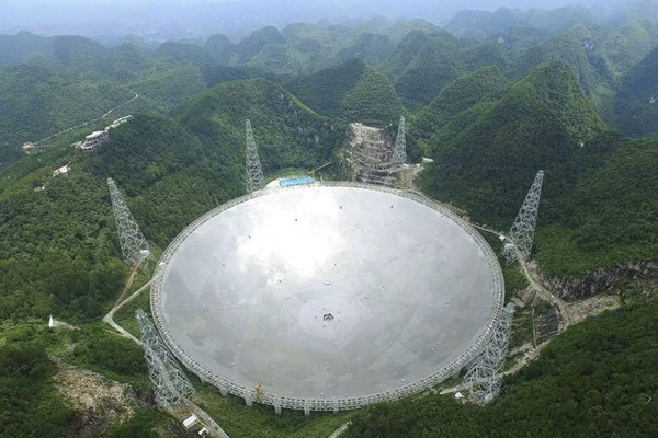Китай предложил астрономам всего мира альтернативу радиотелескопу