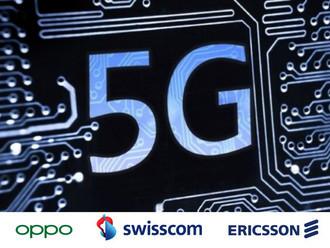 OPPO, Swisscom и Ericsson увеличивают усилия для развития 5G технологий