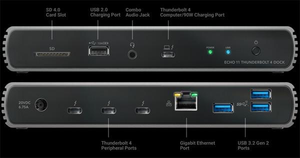 Станция Sonnet Echo 11 Thunderbolt 4 Dock с 11 разъёмами стоит 0