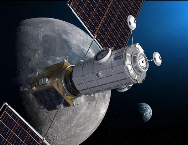 SpaceX поможет NASA построить орбитальную станцию у Луны