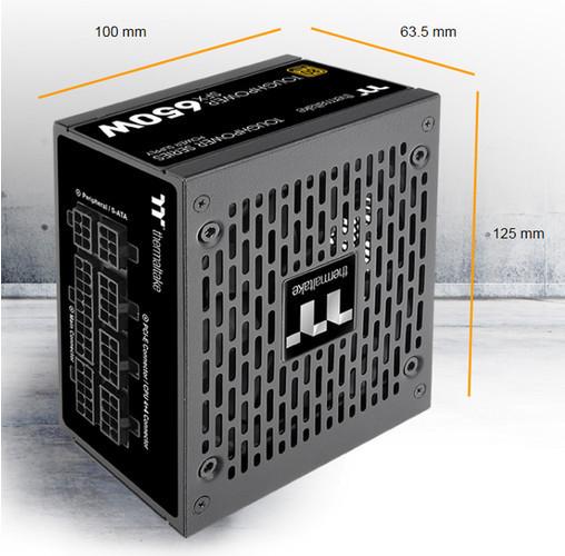 Новые блоки питания Thermaltake Toughpower SFX Gold TT Premium Edition