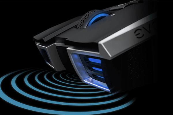 Представлена мышь EVGA X20 для любителей игр с тремя способами подключения к ПК