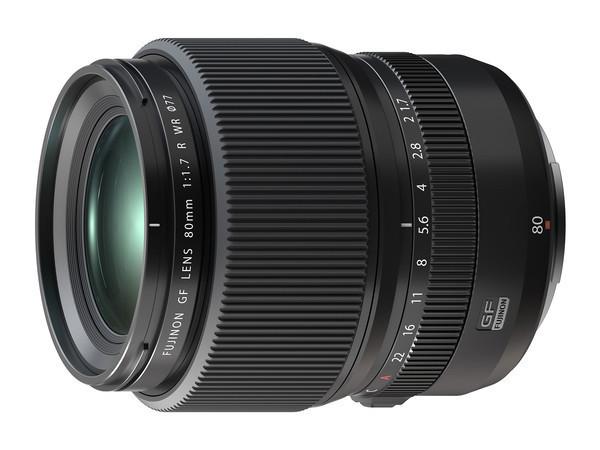 Анонс нового объектива FUJINON GF80mmF1.7 R WR