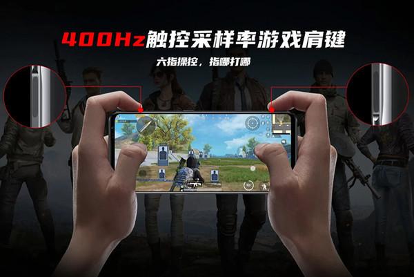 Игровой смартфон Nubia Red Magic 6 Pro получит сенсорные курки по бокам