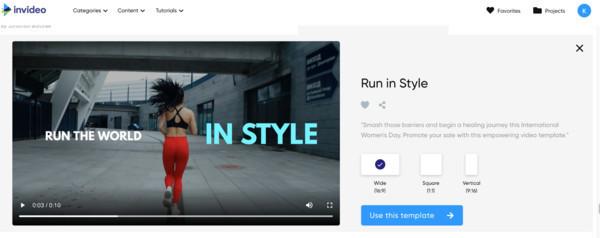 InVideo — онлайн-редактор, который помогает создавать красивые видеоролики