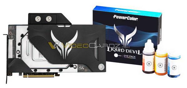 PowerColor выпустит видеокарту Radeon RX 6900 XT Liquid Devil