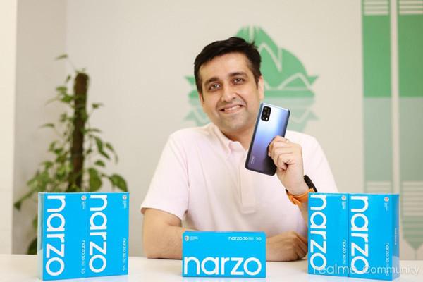 Руководитель Realme подтвердил подготовку 5G-смартфона Narzo 30 Pro 5G