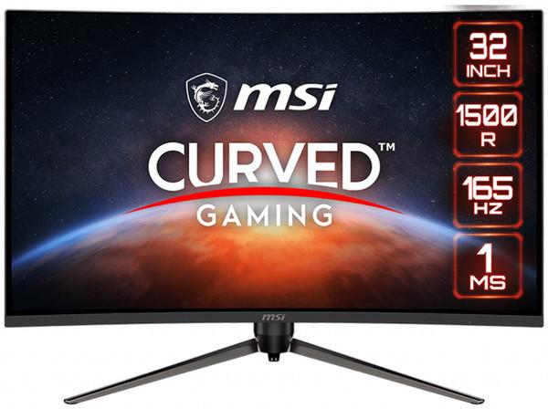 MSI представила изогнутый монитор Optix AG321CR для игровых систем