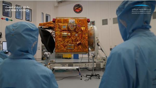 Арабский зонд сел на Марсе