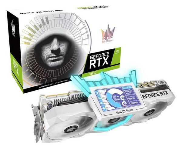 Самая доступная версия GeForce RTX 3090 Hall of Fame оценена в $3000
