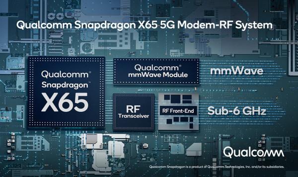 Qualcomm представила 5G-модем нового поколения Snapdragon X65