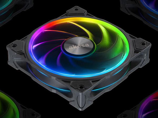 Универсальный вентилятор Akasa SOHO AR получил адресуемую подсветку