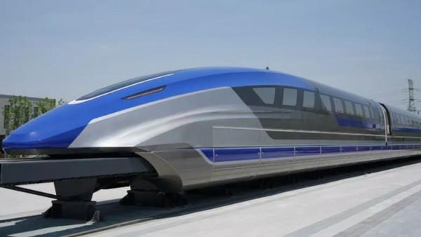 В Китае скоро запустят поезда на магнитной подвеске со скоростью до 600 км/ч
