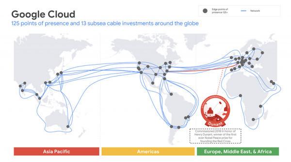 250 Тбит/с между США и Европой: подводный кабель Google Dunant готов к работе