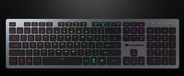 Клавиатура Cougar Vantar AX Black адресована любителям игр
