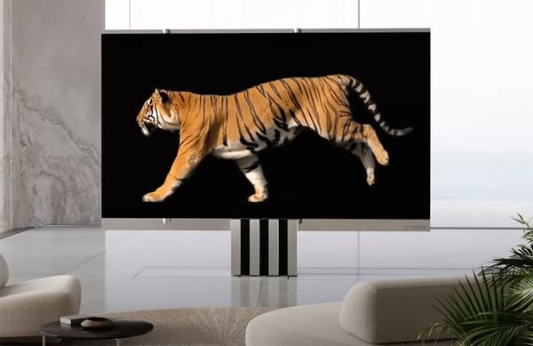Представлен гигантский складной телевизор C SEED M1 за $400 000