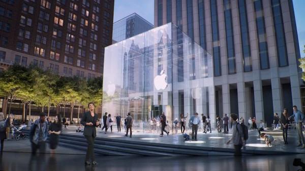 Apple впервые за год возобновила работу всех своих магазинов в США
