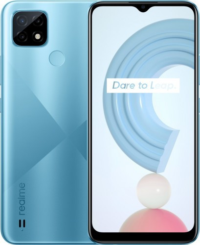 Доступный смартфон Realme C21 получил процессор Helio G35 b тройную камеру
