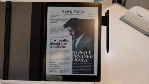 Sony готовит 10,3-дюймовый планшет с цветным дисплеем E Ink