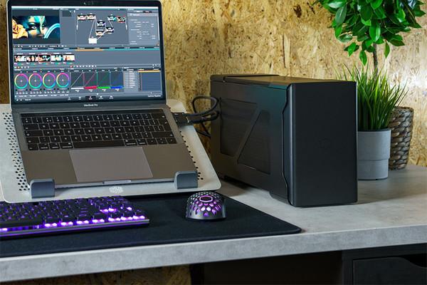 Cooler Master представила кейс для подключения настольной видеокарты к ноутбуку