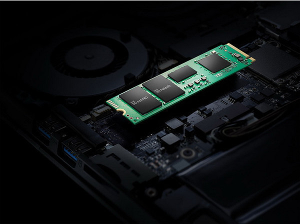 Intel представила серию накопителей SSD 670p — до 2 Тбайт QLC и до 3500 Мбайт/с