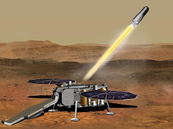 NASA нашла производителя двигателя для ракеты, которая заберёт грунт с Марса