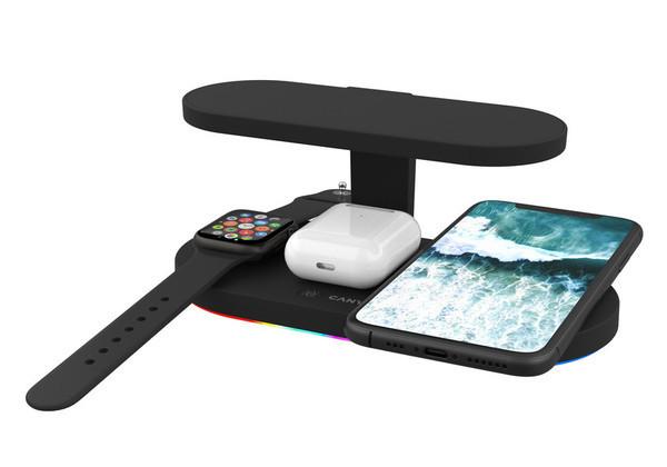 Canyon представляет стильные беспроводные зарядные устройства для техники Apple
