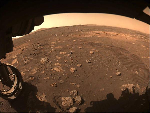Ровер Perseverance увидел на Марсе