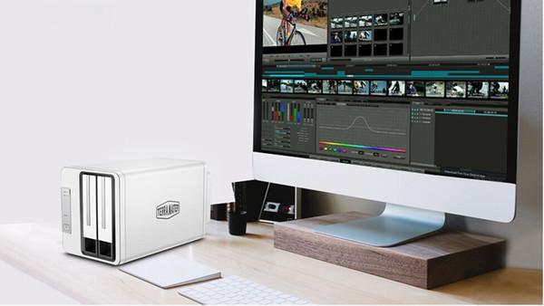 Настольное хранилище TerraMaster D2-310 оснащено интерфейсом USB 3.1