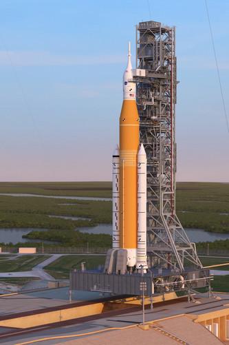 NASA успешно испытало ракету, которая будет доставлять людей на Луну