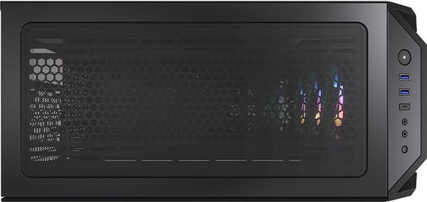 Корпус Cougar MX660 Mesh RGB-L допускает вертикальную установку видеокарты