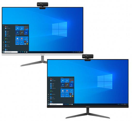 MSI представила моноблоки Modern AM241 и AM271 на платформе Intel Tiger Lake