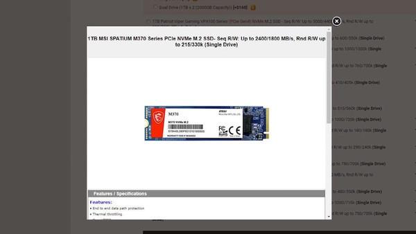 MSI скоро начнёт продажи дебютных твердотельных накопителей Spatinum