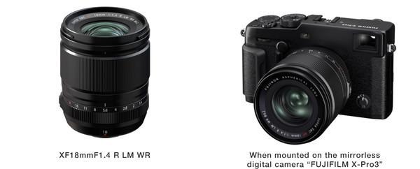 Новый объектив Fujifilm FUJINON XF18mmF1.4 R LM WR