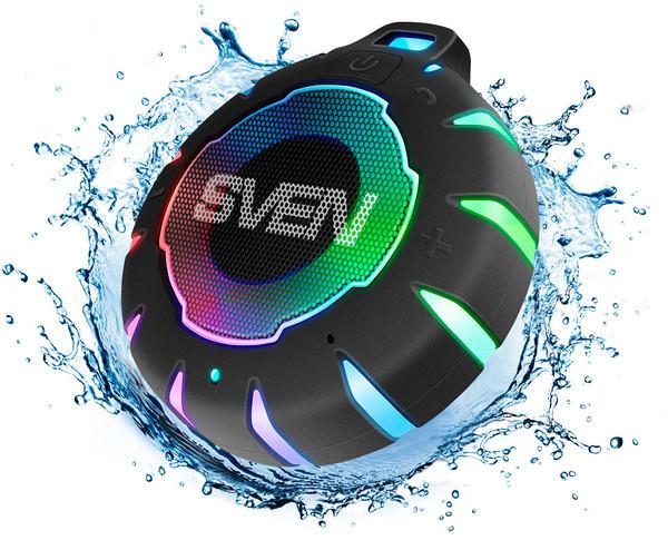Портативная акустика SVEN PS-95 — яркий звук в мини-формате