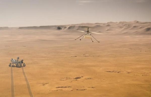 Первый полёт марсианского вертолёта Ingenuity запланирован на сегодня
