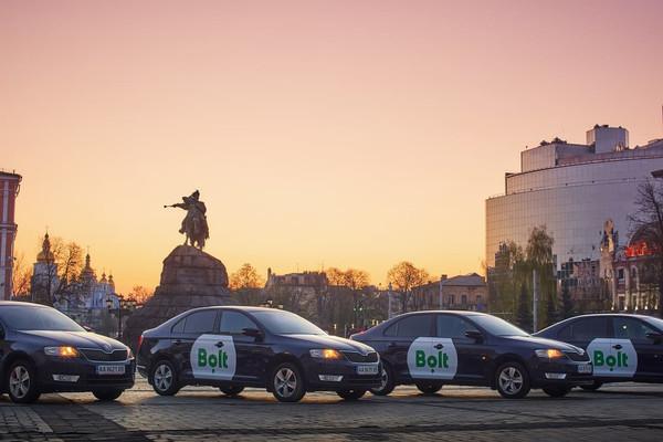 Сервис заказа поездок Bolt теперь доступен в Черкассах